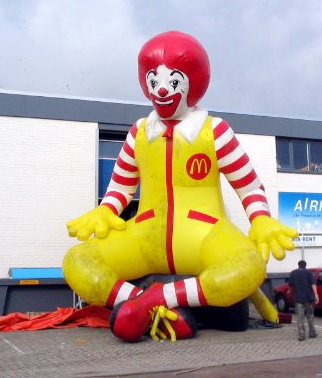 Inflatable Ronald Mc Donald