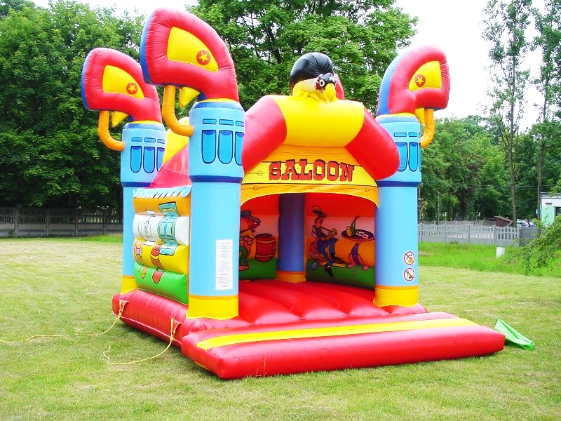 Saloon jumping castle