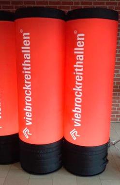 Viebrockreithallen Werbesäulen