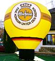 Aufblasbarer Warsteiner Ballon
