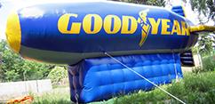 Inflatable Riesen Luftschiff